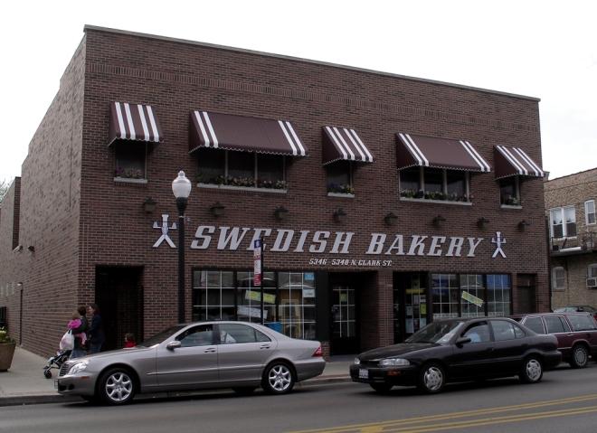Swedish bakery Andersonville