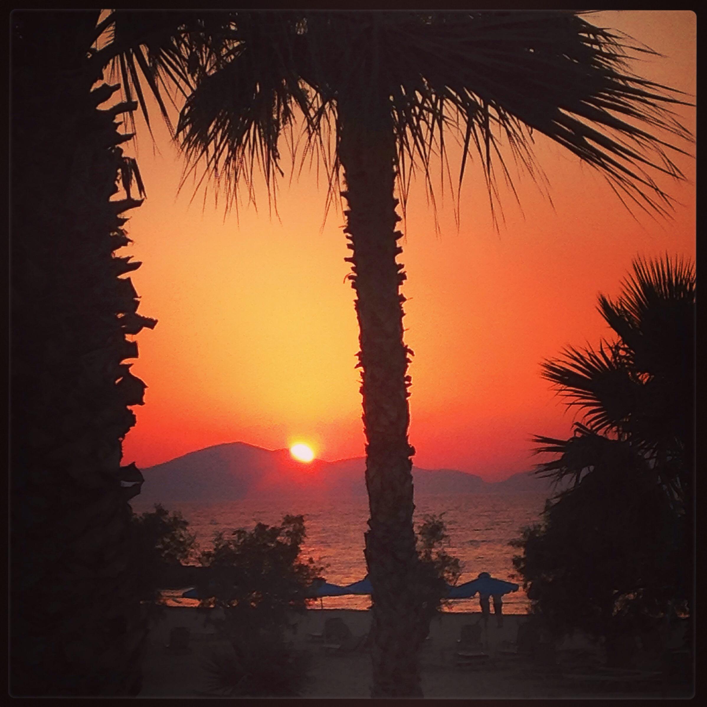 Solnedgång Marmari Beach, Kos