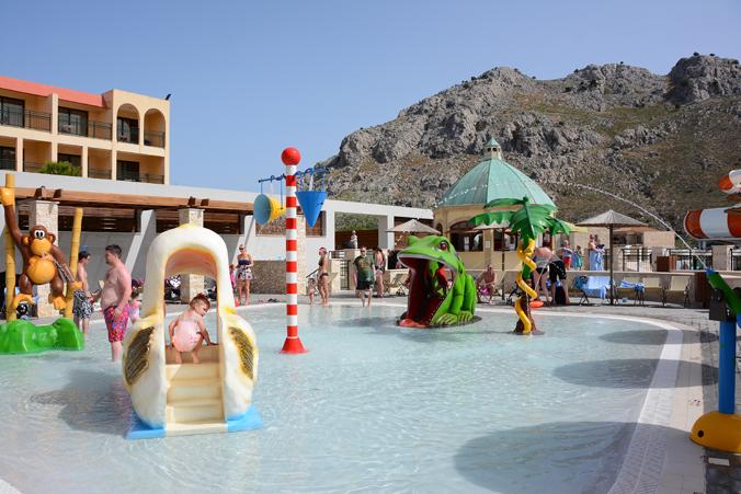 Vattenparken på Atlantica Aegean Blue på Rhodos.