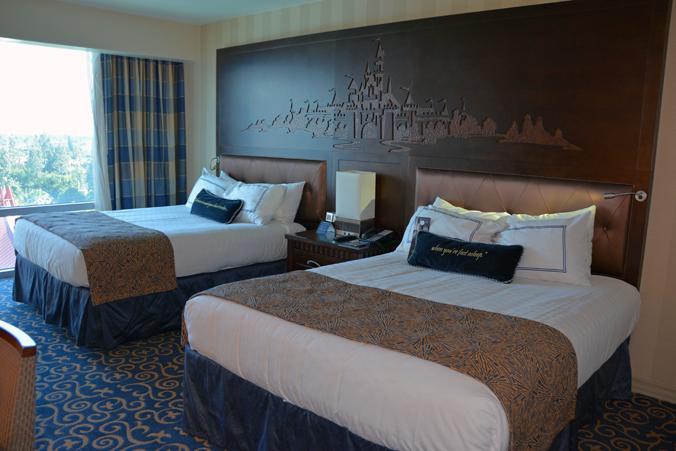 Rummet på Disneyland Hotel.
