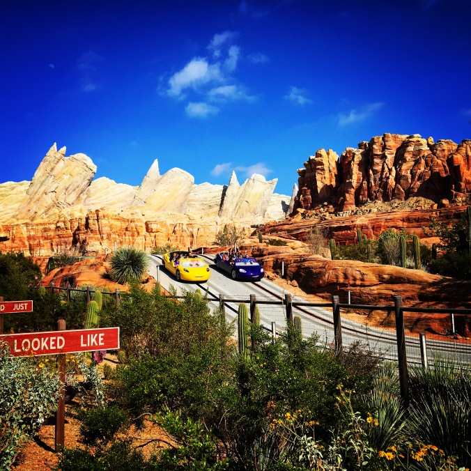 Radiator Springs Racers i California Adventure