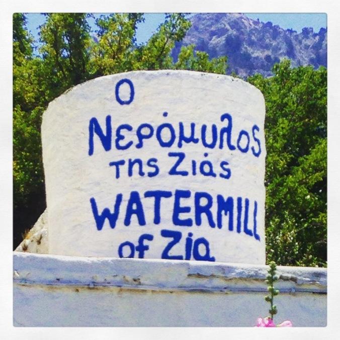 Watermill i Zia, Kos