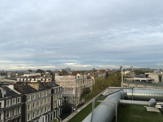 Utsikt från hotellets takterrass