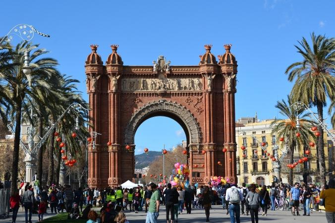 Barcelonas triumfbåge