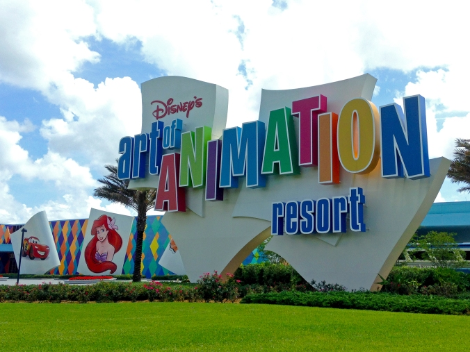 Disney's Art of Animation Resort.