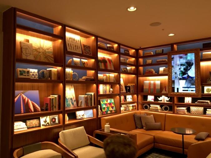 Axiom hotel lobby