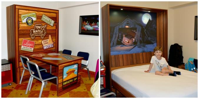 Bord blir säng Art of Animation