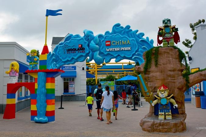 Legoland Chima vattenpark