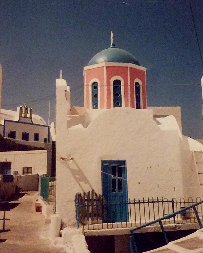 Kyrka Santorini